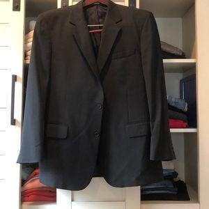 Navy Blue pinstripe blazer